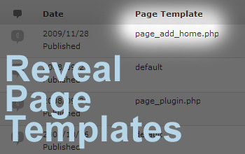 Reveal Page Templates plugin