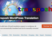 Transposh Translation Plugin WP header image